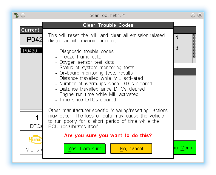 Scantool - OBDII Car Diagnostic Software for Linux | samhobbs co uk